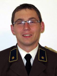 Leiter des Verwaltungsdienstes Andreas Göberl