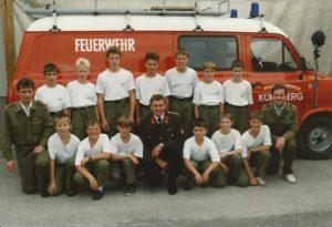 Gründung Feuerwehrjugend