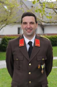Kommandant Johannes Infanger des Kommando der FF Kürnberg